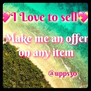💖Make me an offer on any item! Let's make a sale!